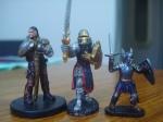 Comparação: D&D, Reaper Bones, Caesar
